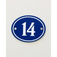 House Sign - Oval - No 3