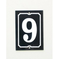 House Number - Portrait - No 1
