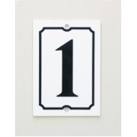 House Number - Portrait - No 2 - Allow 3 weeks For Delivery