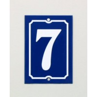 House Number - Portrait - No 3 - Allow 3 weeks For Delivery