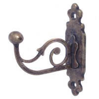 Classic Robe Hook - Antique Brass