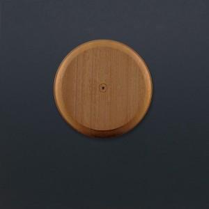 Mounting Block - Sapele - Round - Large