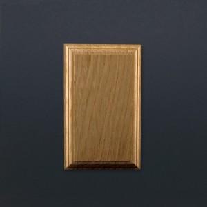 Mounting Block - Oak - Rectangular