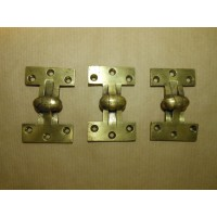 Early Brass Hinges - Set of 3 - SOLD