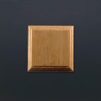 Mounting Block - Oak - Square