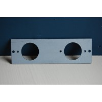 Adaptor Plate - For Use With The Double 'Bakelite' Switch Mounting Block