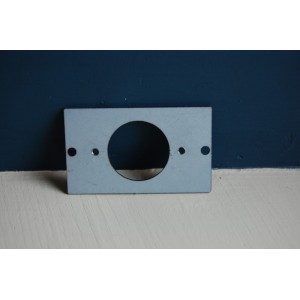 Adaptor Plate - For Use With Single 'Bakelite' Switch Mounting Block