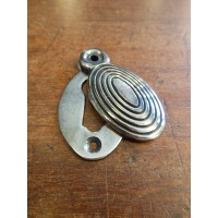 Beehive Escutcheon - Nickel