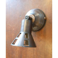 Antique Bronze Spotlight - Wall Light - GU10 Halogen Lamp