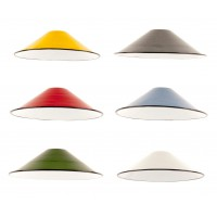 Enamel Coolie Shade - 6 Colours