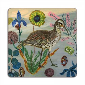 Birds in the Dunes Placemat - Eskimo Curlew
