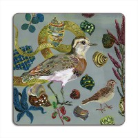 Birds in the Dunes Placemat - Caspian Plover
