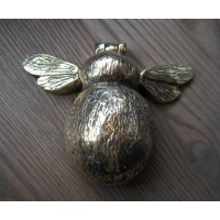 Bee Door Knocker - Brass OR Nickel