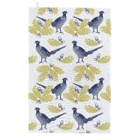 Thornback & Peel Tea Towel - Pheasant & Oak