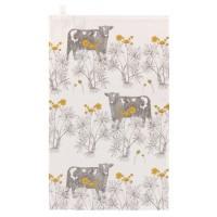 Thornback & Peel Tea Towel - Cow & Buttercup