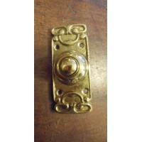 Kenrick Style Brass Bell Push
