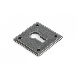 Pewter -  Avon Escutcheon - Anvil 83658