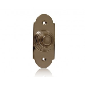 Traditional Arch - Lighted Bell Push - Brushed Nickel