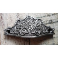 Drawer Pull - Cast Iron - Decorative - Small Bureau