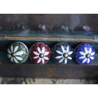 Suri - Ceramic Cupboard knob - 4 Colours Available