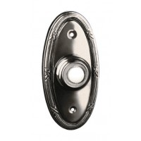 Traditional Oval - Lighted Bell Push - Brushed Nickel