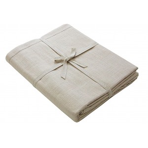 Primavera Cotton Table Cloth - 130 x 180cm - Linen