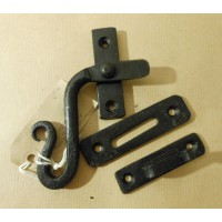3 Sets of - Shepherds Crook Window Fasteners - Left Hand