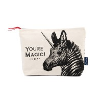 "Chase & Wonder - ""You're Magic!"" Canvas Wash Bag"