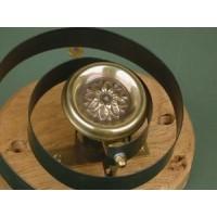 Butler's Bell - Brass - Flower