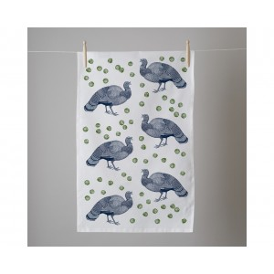 Thornback & Peel Tea Towel -Turkey & Sprout