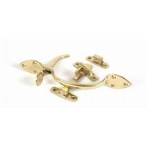 Polished Brass - Suffolk Latch Set - Anvil 90241