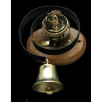 Butler's Bell - Brass - Lady