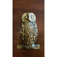 Owl Door Knocker - Brass