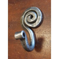 Artisan Hook - Hand Forged - Pewter Finish