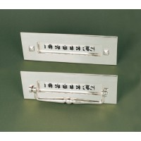 Classic Letterplate - Without Clapper - Polished Nickel