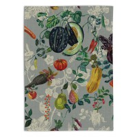 Veggies Tea Towel - Linen - by Nathalie Lété
