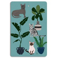 Cats Chopping Board - Design by Anne Bentley