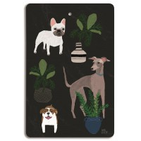 Dogs Chopping Board - Design by Anne Bentley