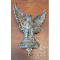Reclaimed Eagle Door Knocker - Brass with Patina