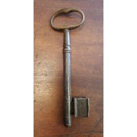 Reclaimed Large Iron Key - Key 5 - Oval Bow