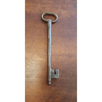 Reclaimed Large Iron Key - Key 6 - Oval Bow