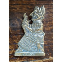 Reclaimed Small (Bedroom) Door Knocker - Judy - Brass