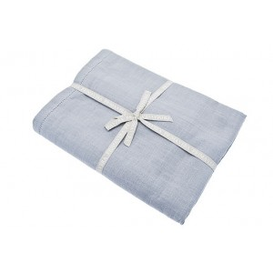 Primavera Cotton Table Cloth - 130 x 180cm - Argent