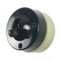 Bakelite Dolly Switch – Two Way - Cream Ceramic Base