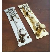 Arts & Crafts Bolt - Small - Brass OR Nickel