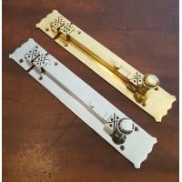 Arts & Crafts Bolt - Large - Brass OR Nickel