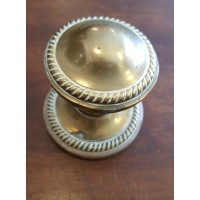 "Reclaimed ""Regency"" Centre Door Pull #3 - Brass"