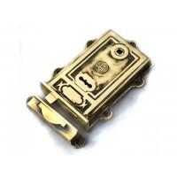 Davenport Brass Rim Lock