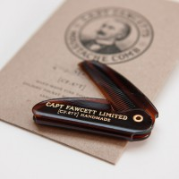 'Captain Fawcett Ltd' - Folding Pocket Moustache Comb