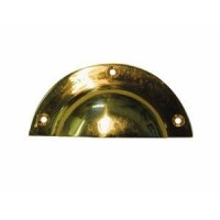 Drawer Pull - Cast Brass